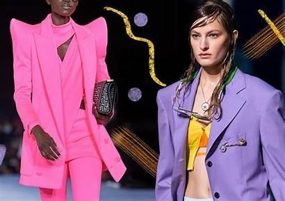 Spring Trends Colors Moda Colori Runway Primavera