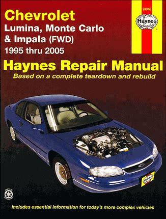 how to download repair manuals 1999 chevrolet monte carlo electronic throttle control 2001 monte carlo repair manual pdf skydock