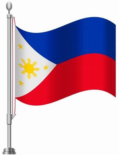 Flag Philippines Clipart Clip Philippine Pole American