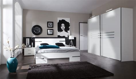 chambres adultes completes design chambre adulte compl 232 te design blanc alpin chrome brillant