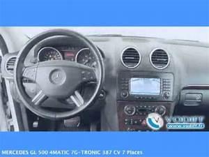 Mercedes Gl 7 Places : vodiff mercedes occasion alsace mercedes gl 500 4matic 7g tronic 387 cv 7 places youtube ~ Maxctalentgroup.com Avis de Voitures
