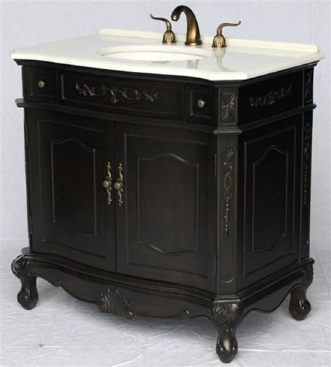 Bathroom Vanities Antique Style by 36 Inch Bathroom Vanity Antique Style Espresso Color 36