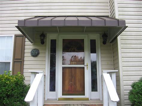front door awning wood built  polymer design good idea front porch awning
