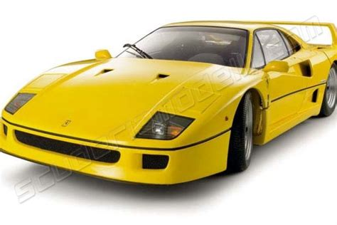 Yellow F40 by Mattel Wheels 1987 F40 Yellow Yellow