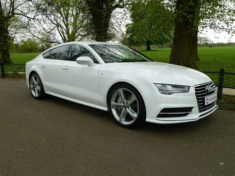 used white audi a7 for sale northtonshire