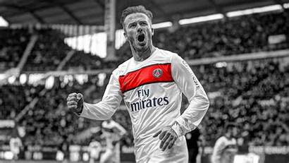 Beckham David Wallpapers Psg Footballer Football Paris