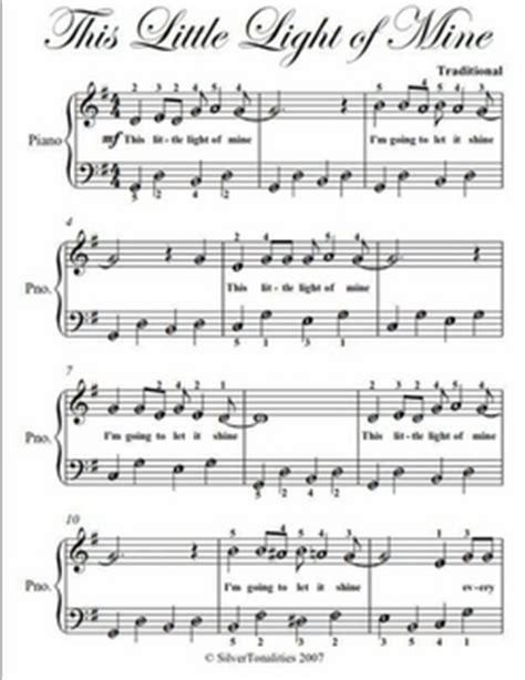this light of mine chords this light of mine easy piano sheet pdf by