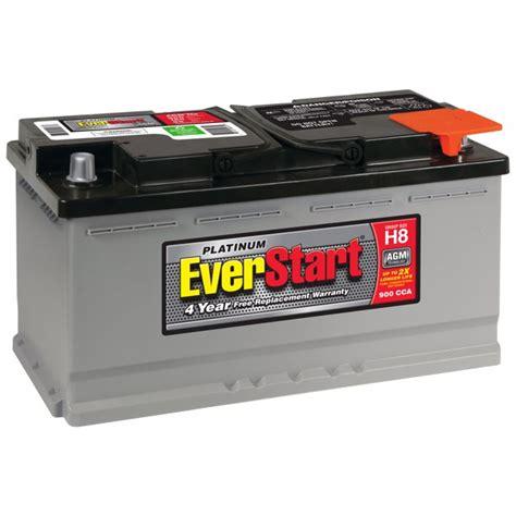 Everstart Platinum Agm Battery Group Size H8 12 Volt900