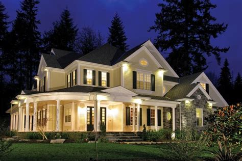 country style home plans with wrap around porches spacious modern farmhouse style home with large wraparound porch farmhouse home plan 551196