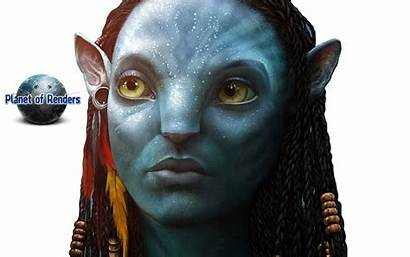 Neytiri Avatar Render Planet Renders