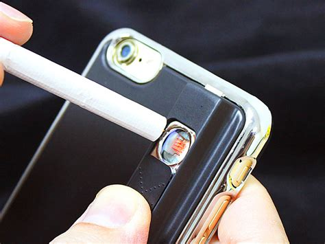 iphone lighter case das iphone mit integriertem feuerzeug