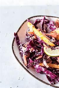 Dressing Für Karottensalat : veganer karottensalat mit rotkohl und sesam dressing ~ Lizthompson.info Haus und Dekorationen