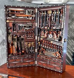 Studley Tool Chest is a Woodworker's Dream from the 19th