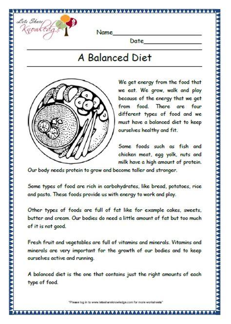 grade 6 nutrition worksheets number names worksheets 187 balanced diet worksheets free