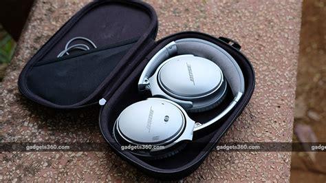 bluetooth headphones india bose earphones qc35 ii ndtv tv bundle qc quality noise does reddit cancelling ears