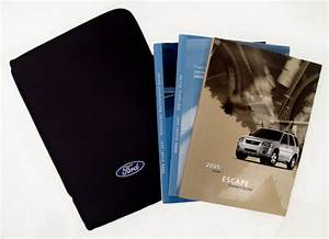 2005 Ford Escape Oem Owners Guide Manual Set  Supplements