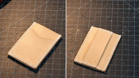 leather templates card wallet with template pdf patterns and templates leatherworker net