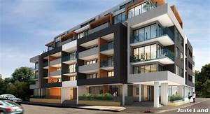 Juste land the wilkinson brunswick melbourne modern for Modern apartment buildings