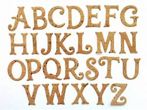 self adhesive cork paper letters die cut alphabet die With die cut paper letters