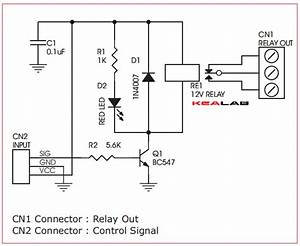 One Channel Relay Driver  U2013 Circuit Wiring Diagrams