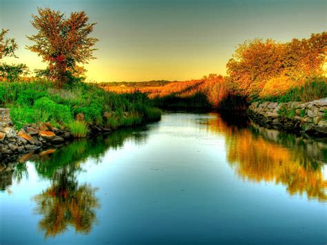 River Nature Wallpapers Hd Pictures