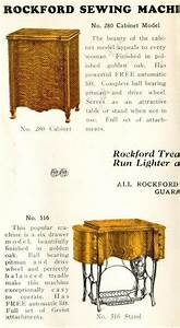 Rockford Treadles By The Free Sewing Machine Company