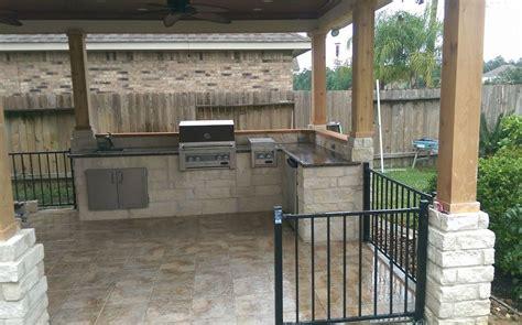 Outdoor Kitchen Designs Houston Texas