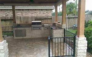 Outdoor kitchen designs houston texas for Outdoor kitchen designs houston texas