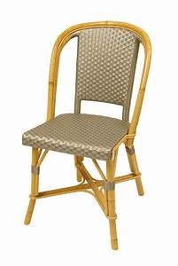 Chaise Terrasse Professionnel : chaise bistrot parisien ~ Teatrodelosmanantiales.com Idées de Décoration