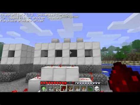 Minecraft Boat Piston by Piston Engines In Minecraft