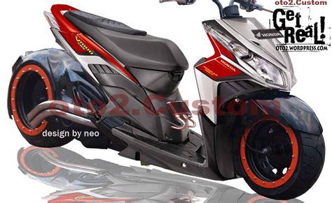 Modivikasi Mx by Gambar Modivikasi Motor Foto Modivikasi Honda Vario