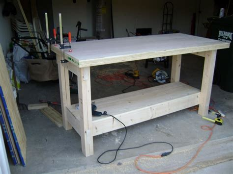 woodwork plywood work table plans  plans