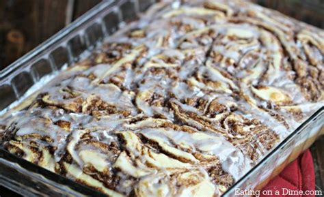 easy coffee cake recipe   cinnamon roll cake