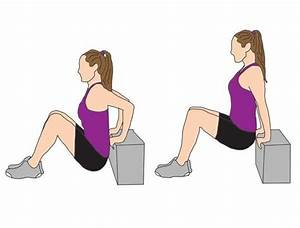 12 best wh sa nestle fitness exercises images on With tricep dips floor