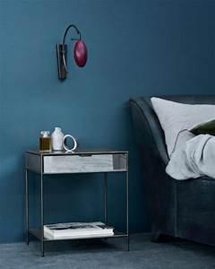Schlafzimmer Streichen Farbe : mitternachtsblau zauberhafte wohnfarbe sweet home ~ Markanthonyermac.com Haus und Dekorationen