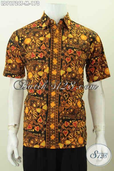 batik modis pria busana batik pria muda pakaian batik modis halus proses
