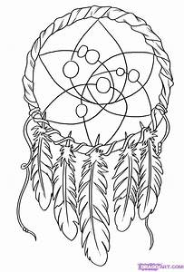 Oodles Of Doodles  Dreamcatcher Coloring Page