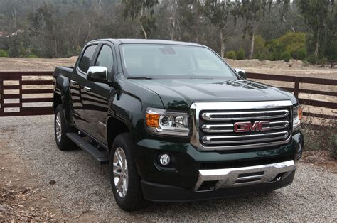 2015 Chevrolet Colorado And Gmc Canyon First Drive