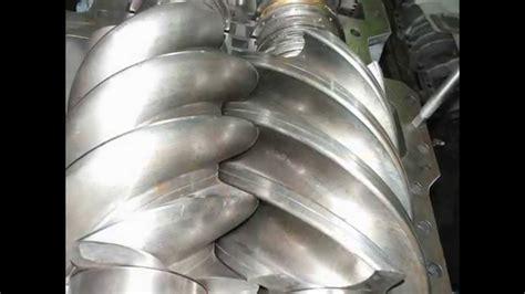 Паровая винтовая машина мощностью 1000 квт для использовании в малой энергетике