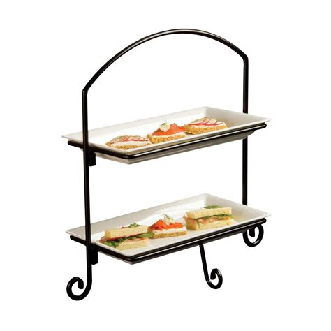 tiered tray stand  tier cupcake stand  serving tray  donuts  desserts tiered tray
