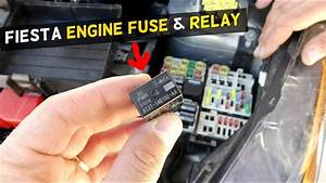 Ford Fiesta Engine Fuse Relay Power Train Mk7 St