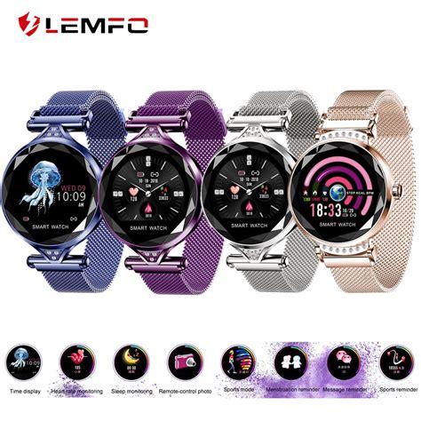 LEMFO New H2 Smart Watch Women Heart Rate Monitor Blood