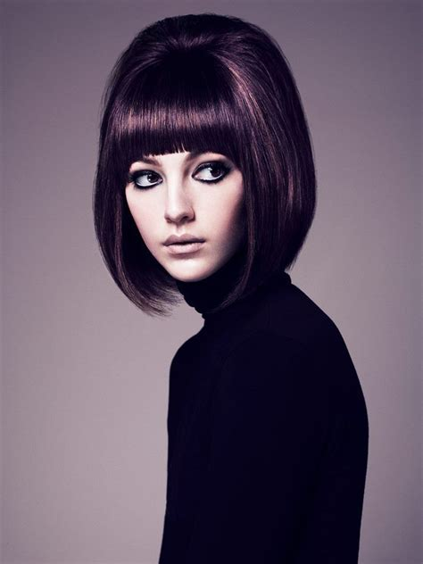 60s Bob Hairstyles by Big Hair Retro Bob Bouffant 60 S Style Blast From The