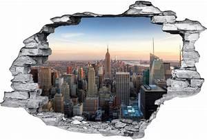 Image Trompe L Oeil : stickers trompe l 39 oeil 3d new york des prix 50 moins ~ Melissatoandfro.com Idées de Décoration