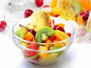 Fruit Salad With Ice Cream And Custard | www.pixshark.com ...