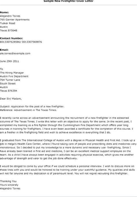 firefighter cover letter samples loginnelkrivercom