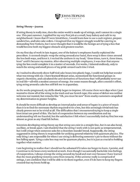 Biography of grandmother essay