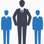Icon Leader Team Business Leadership Management Icons