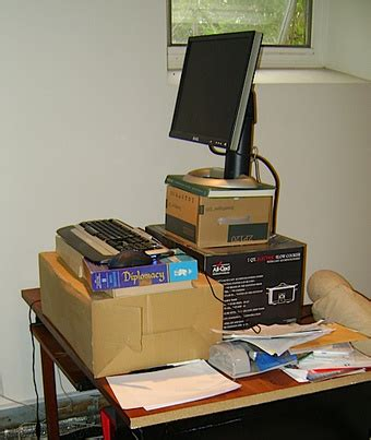 diy pole based standing desk design lifehacker australia