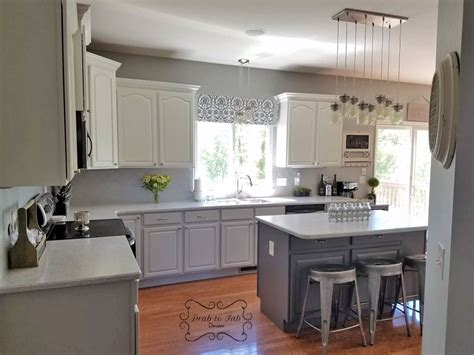 toned fancy farmhouse chic kitchen cabinets general